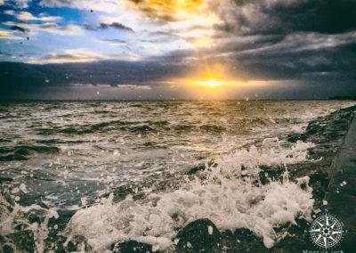 Sonnenuntergang-Wilhelmshaven